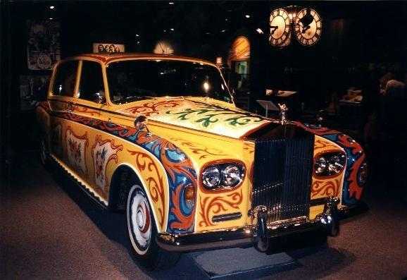 1965 Rolls-Royce Phantom V once owned by John Lennon, sold at aution in the